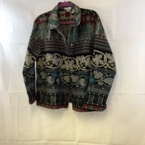 Chico design multi color jacket size 3